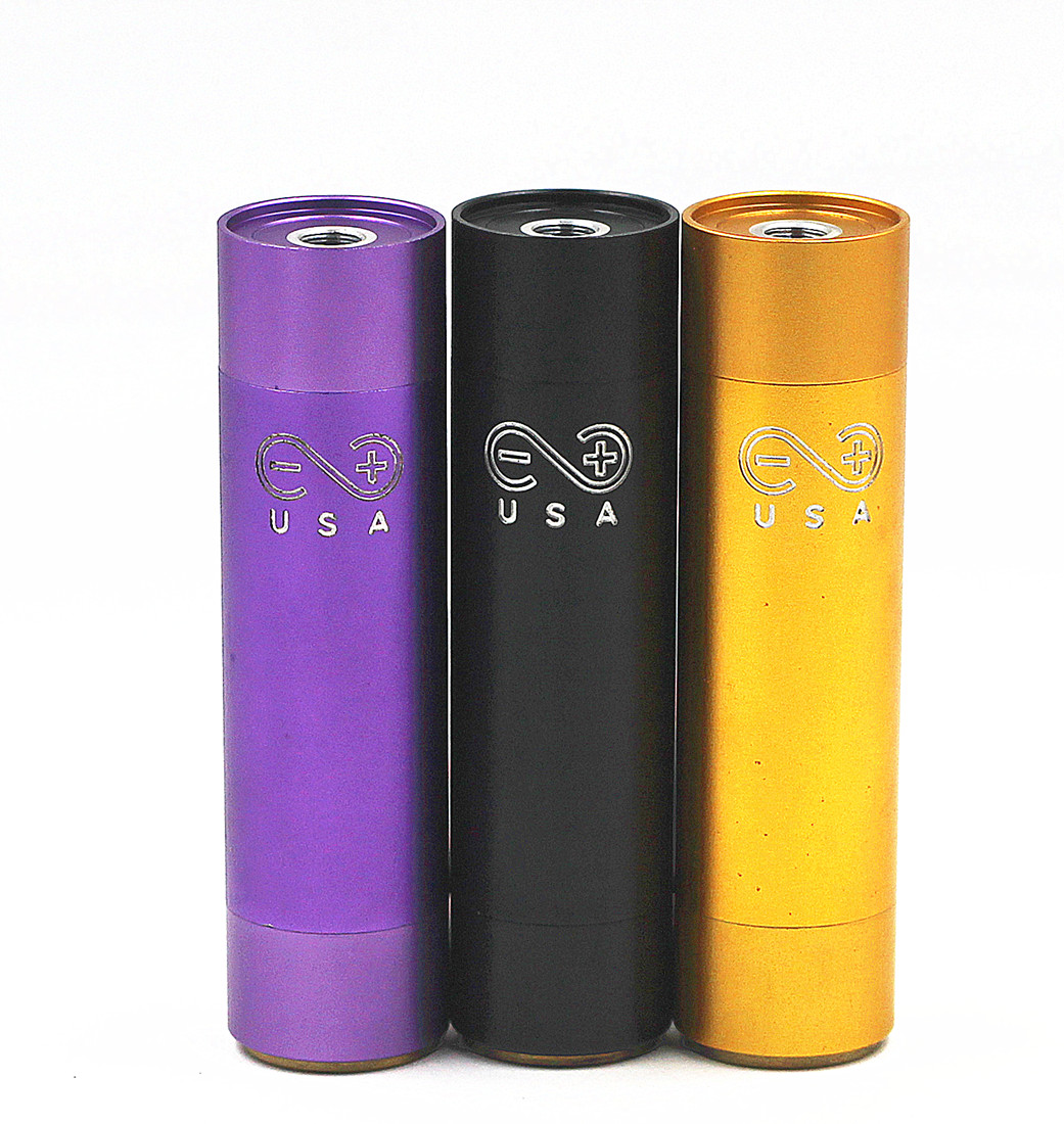 Manhattan Mechanical Mech Mod Kit With RDA Velociy RBA Deck 18500 Battery Vaporizer Vapor Vape Mod