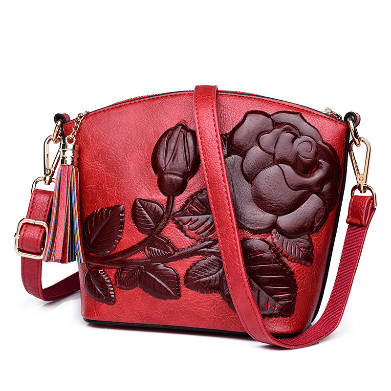 3D Rose Flower Small Bags For Women 2018 Luxury Handbags Women Bags Designer Women Messenger Shoulder Bag Sheel Sac A Main Femme