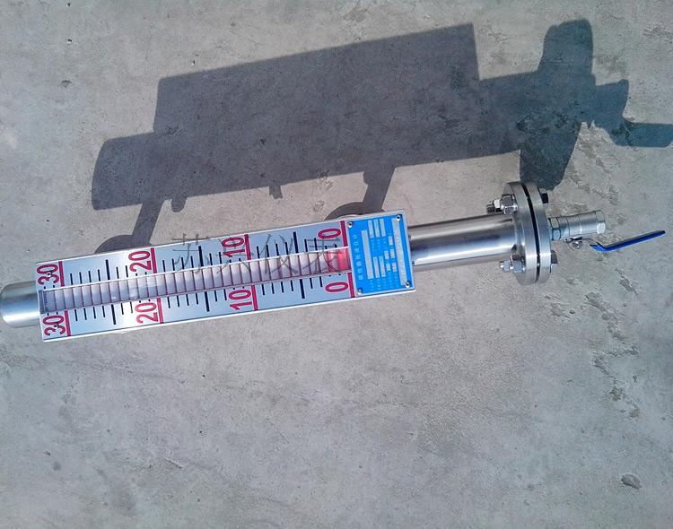 304/316 Magnetic Flap Level Gauge Magnetic Float Level Gauge Side-mounted Liquid Level Flip Column Display UHZ-519C