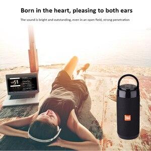 Image 5 - TG113C Bluetooth Speaker Draagbare Outdoor Luidspreker Draadloze Kolom Met Fm Radio Waterdicht Subwoofer & Telefoon Houder 9 Kleuren