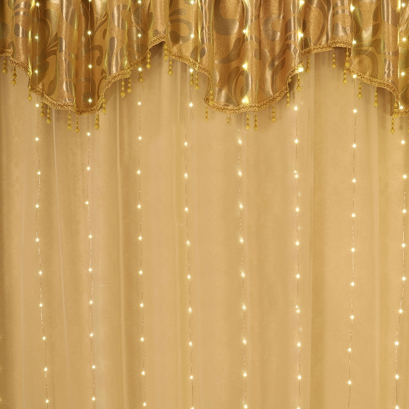 3 m led guirlanda cortina luzes da