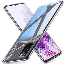 Transparent Phone Case for Samsung Galaxy S20 FE Lite Note 20 Ultra Plus Case Cover Soft