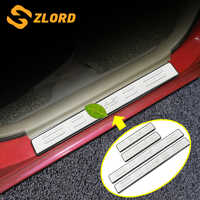 For Mazda CX-5 CX5 CX 5 2014 - 2019 Stainless Steel Inside Door Sill Protector Pedal Scuff Plate Cover Trims Accessories