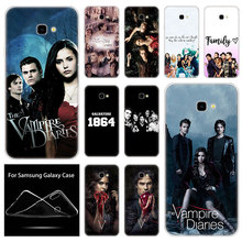 Soft Silicone Case The Vampire Diaries For Samsung Galaxy J8 J6 J4 J2 Pro 2018 C