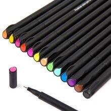 Набор цветных ручек fineliner 12 шт ручка для рисования скетчей