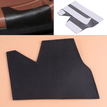 DWCX Driving Door Pull Handle Cover Armrest Leather Mat Sleeve Protector Fit for BMW 5 Series F10 2011-2013 2014 2015 2016 2017 left driving side cow leather door armrest handle pull protection cover for bmw 5 series f10 2011 2012 2013 2014 2015 2016 2017