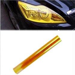 2021 New 1PC 30cm * 60cm Car Headlight Fog Lamp Protect Film Vinyl Wrap Overlays Sheet Headlight Vinyl Film Self-Adhesive #PY10