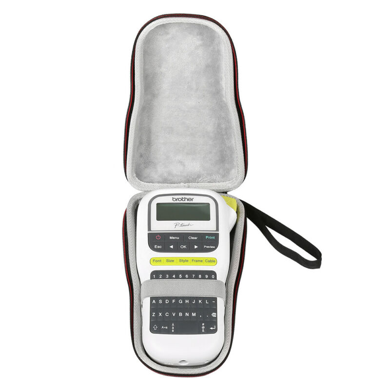 New Fashion Caseling Hard Case Fit For Brother P-Touch, PTH110, Easy Portable Label Maker