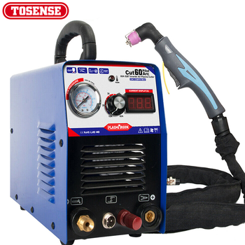 60A  Air Plasma Cutter Machine CNC Compatible- Pilot Arc Power UP 1-18mm,110/220v with Free Accessories - discount item  38% OFF Welding Equipment