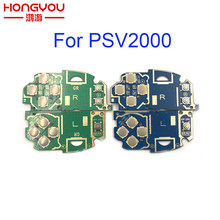 Interruptor de circuito pcb, esquerdo lr l r switch placa de circuito para ps vita 2000 psv 2000 psv2000