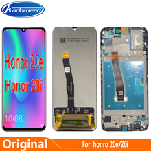 Original Display For Huawei Honor 20e LCD Display Touch Screen Digitizer With Frame For Honor 20i HRY-AL00TA LCD Glass Screen