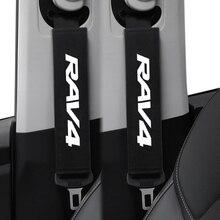 Case Auto-Seat-Belt-Cover Toyota 2pcs for RAV4 Car-Styling