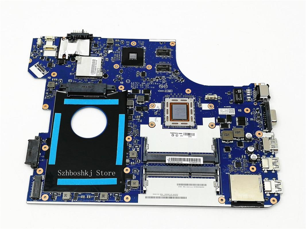 Frete grátis aate1 NM-A241 placa principal aplicar para lenovo thinkpad e555 computador portátil placa-mãe com A10-7300U ddr3 100% testado trabalho