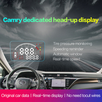OBD2 Car HUD with Full Functions Head Up Display For Toyota Camry 2018 Left hand Drive Plug and Play