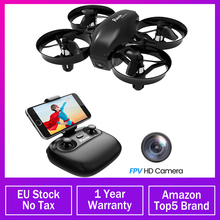Potensic Mini Drone With Camera WiFi Fpv Altitude Hold Headless Mode 2.4G 6Axis RC Dron Quadcopter Toys For Children 2 Batteries