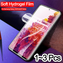 1-3PCS hydrogel film for samsung galaxy s20 fe soft glass screen protector samsung note 20 ultra protection s 20 plus s20-fe