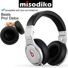 طقم وسادات الأذن للاستبدال من misodiko لتزيين سماعات الرأس من دكتور دري برو/ديتوكس فوق الأذن ، وسادات أذن لإصلاح أجزاء سماعة الرأس