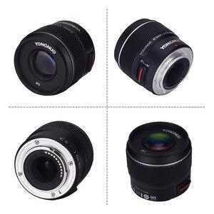Image 4 - Yongnuo YN 42,5mm F 1,7 Große Blende AF/MF Autofokus Standard Fixfokus objektiv Leicht Unschärfe Hintergrund mit freies Linse Tuch