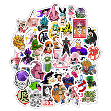 50Pcs Dragon Ball Anime Stickers Doodle Does Not Repeat The Individuality Sheet Car Motorcycle Draw Bar Box Cartoon Sticker Toy