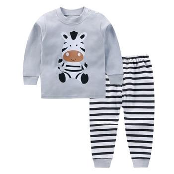 0-24M Baby Clothing Sets Autumn Baby boys Clothes Infant Cotton Girls Clothes 2pcs newborn baby Underwear Kids Clothes Set - 1, 6M