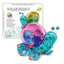 Robot Accessories Fun Children #8217 S Toys Snail Snail Solar Toys For Children Learning And Science Children #8217 S Educational Toys cheap Plastic CN(Origin)