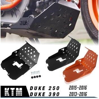 Aluminum Motorcycle 250 Duke  Engine Guard Protector Skid Plate Bash Engine Cover Case for KTM Duke 250 390 2013 2014 2015 2016