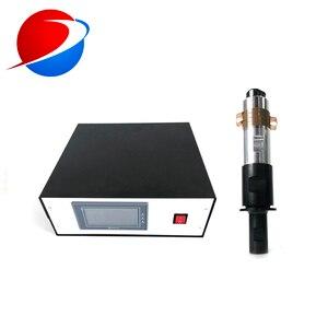 FFP1/FFP2/FFP3 маска машина компонент 2000 вт ультразвуковой сварочный генератор/преобразователь/усилитель