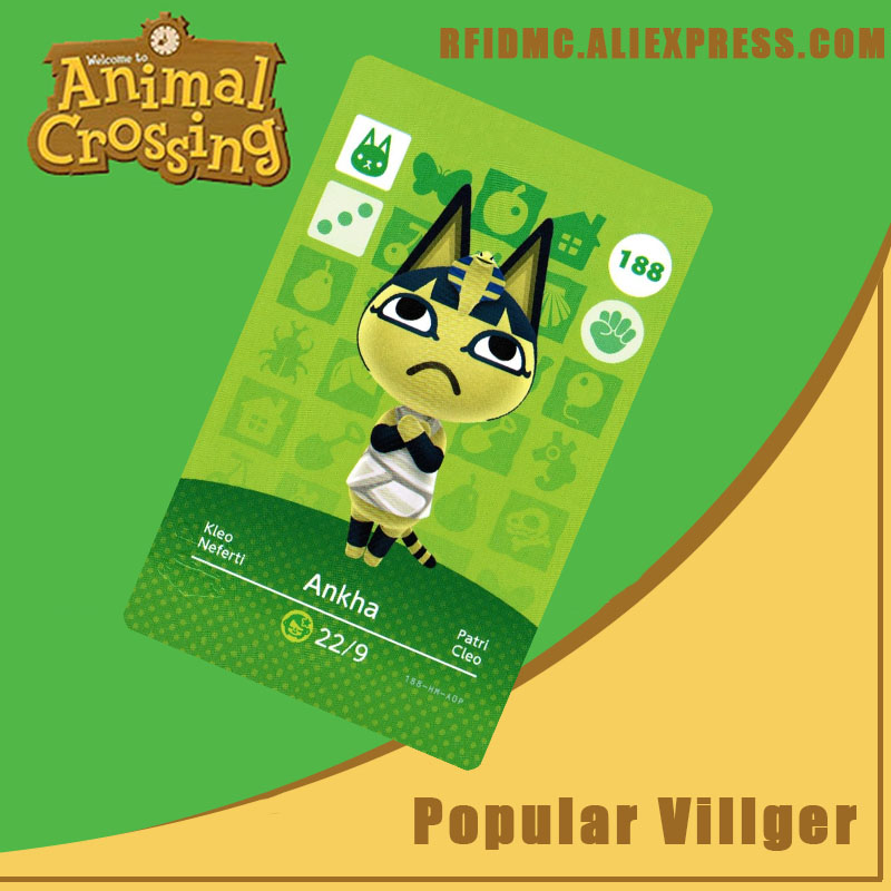 188 Ankha Animal Crossing Card Amiibo For New Horizons