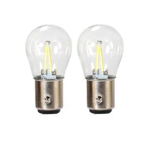 P21W Ba15s 1156 1157 светодиодный чип накаливания, автомобильный светильник, лампа для автомобиля, инструкция по обратному повороту, стоп-светильни...