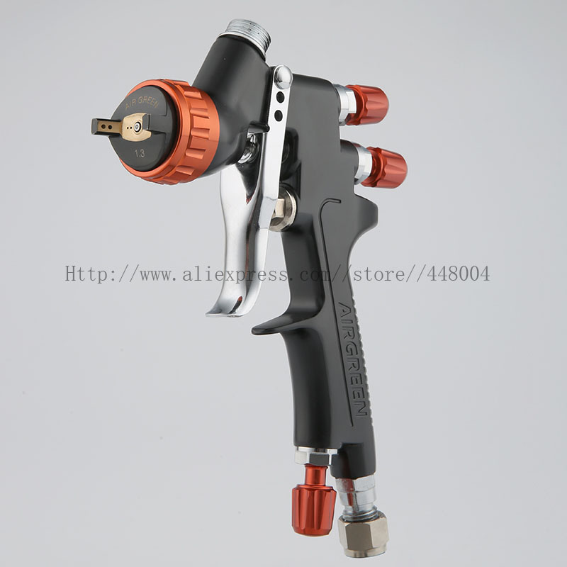 HVLP spray gun gravity spray gun 1 3mm 600CC cup manual spray gun with spray gun accessories
