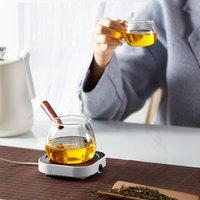 USB Cup Heater Mini Portable Thermostatic Heating Coaster Mat Cup Warmer Milk Coffee Heater Desktop Electric Heating Pad