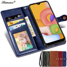 Retro Leather Wallet Flip Book Case For OPPO Reno 10x zoom A5 2020 A9 2020 A9 Realme 3 F11 Phone Purse Bag Photo Slots RENO 5G(China)