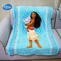 Disney Moana & Pua плюшевое одеяло «Волна»  157x229 см  для детей  мальчиков и девочек  подарок на день рождения