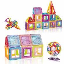 25-100PCS Magnetic Blocks Magnetic Designer Constructor Set Model & Building Toy Educational Toys For Children