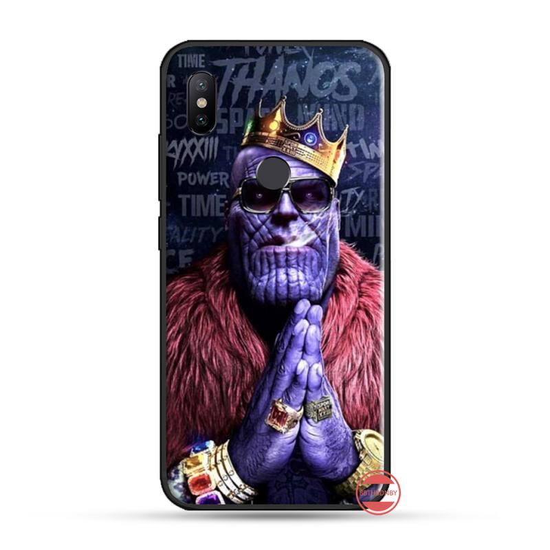 Avengers Deadman Dead Marvel Coque Shell Phone Case For Xiaomi Redmi 4X 5 Plus 6A 7 7A 8 Mi8 8Lite 9 Note 4 5 7 8 Pro