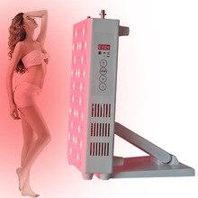 Светодиодный светильник для терапии PDT КРАСНЫЙ светильник 850nm 660nm для омоложения кожи отбеливающий для удаления морщин для лица и тела для домашнего использования