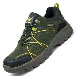 Image 3 - 秋のクラシックメンズカジュアルシューズメンズハイキング靴ジョギングライトスポーツの靴新しいのスニーカーウォーキング摩耗抵抗