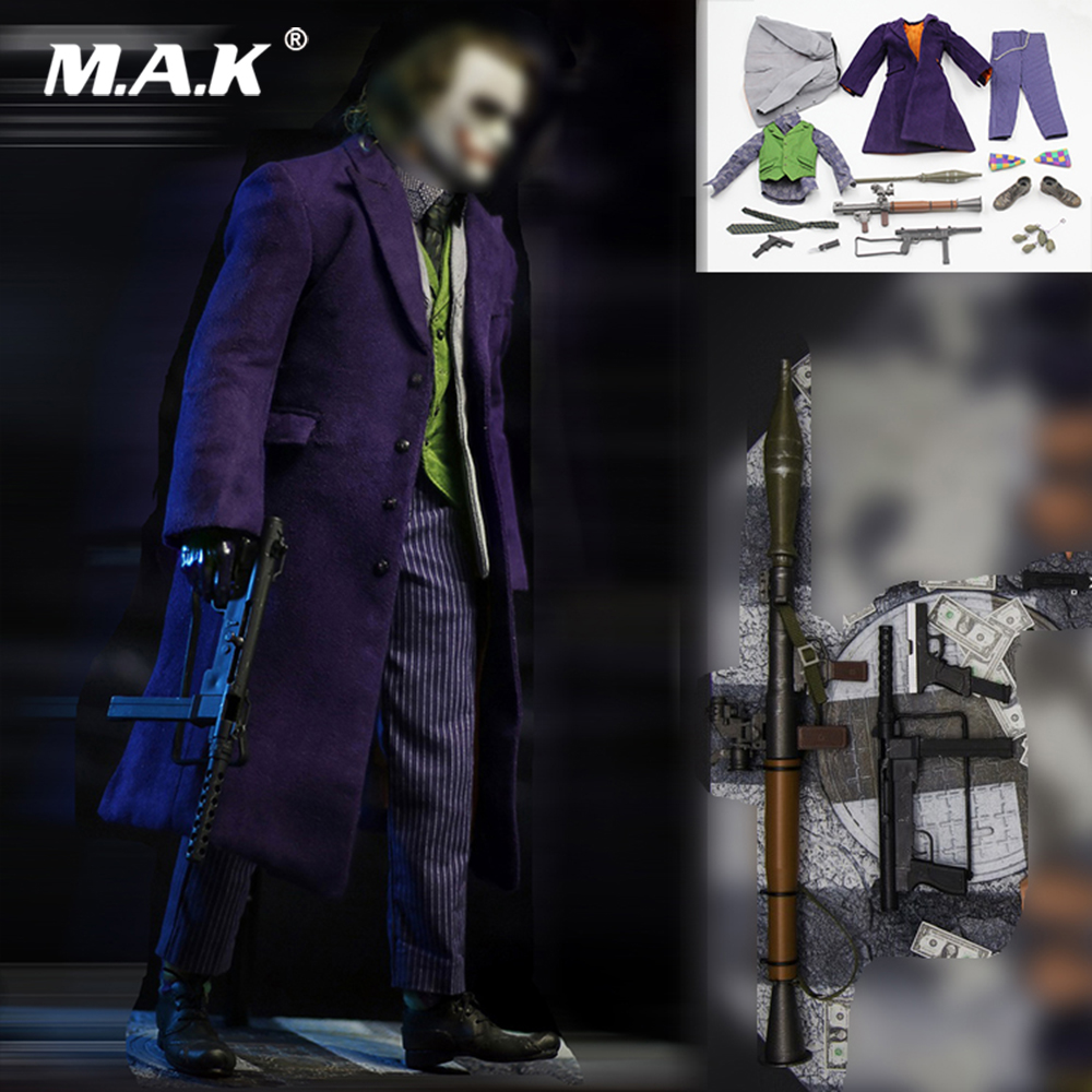 CUKE TOYS MA-003 1//6 The Joker Suit Costume  Casual Outfit F 12/'/' Figure Toy