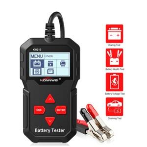KONNWEI KW210 автоматический умный 12В автомобильный тестер батареи автоматический анализатор батареи 100 до 2000CCA Cranking автомобильный тестер батаре...