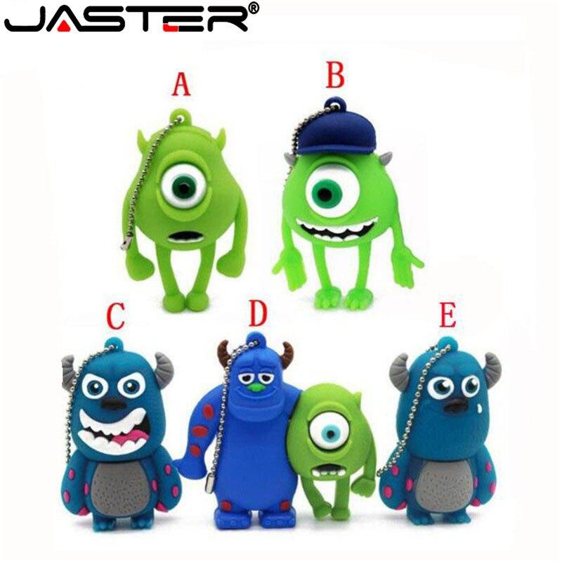 JASTER Lovely Cartoon Monster University Pen Drive 4gb 8gb 16gb 32gb 64gb Usb Flash Drive Monsters Usb Flash Pendrives