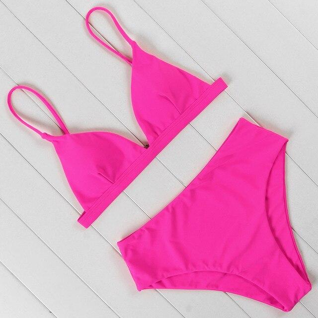 Sexy Brazilian Push Up Bikini Swimwear Women Micro Swimsuit B3933 2