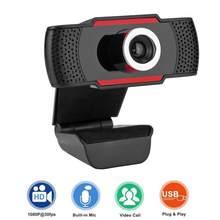 1080p hd 5mp câmera de computador usb webcams embutido som-absorvente microfone 1920*1080 resolução вresolution resolution 720p