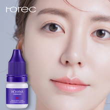ROREC hyaluronic acid Whitening Face Serum Plant Moisturizing Lotion Anti Wrinkle Anti Aging Shrink Pores  5ml*10 Skin Care hyaluronic acid moisturizing anti wrinkle lotion emulsion 1000g skin care hospital equipment wholesale