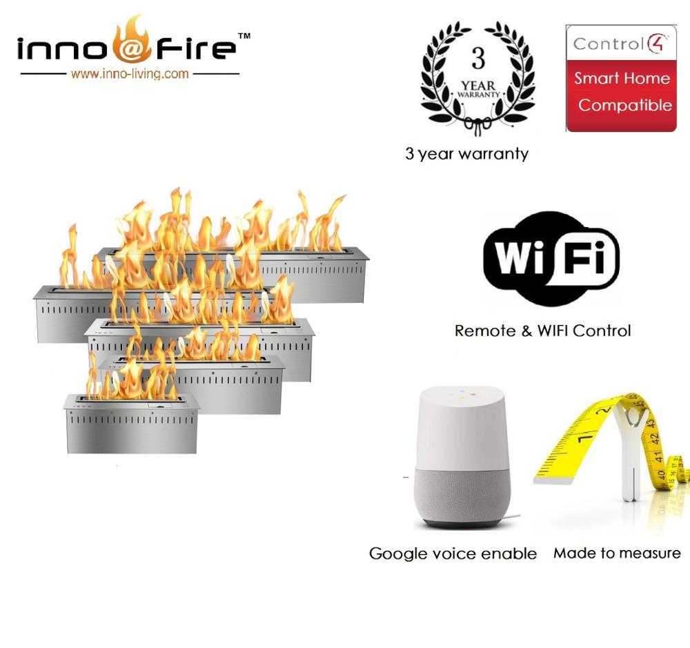 Inno Livinfg Fire 48 Inch Modern Fireplace Design Electric Bio Ethanol Fuel