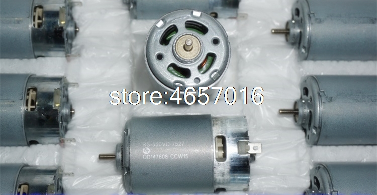 Mabuchi RS-550VD-7527 5V12V14V High power high speed motor DIY vehicle model permanent magnet powerfull machine 550 DC motor