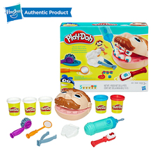 Hasbro Play Doh Little Dentist Colorful Mud Fun Pie Childrens Soft Clay Playa Creative DIY Toys Set Slime Clear Fluffy