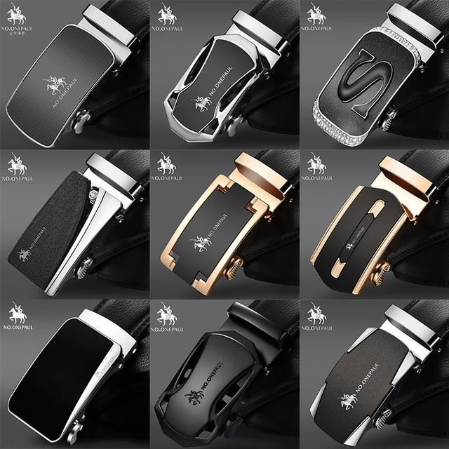 Luxury brand Male Genuine Leather Strap Belts 2