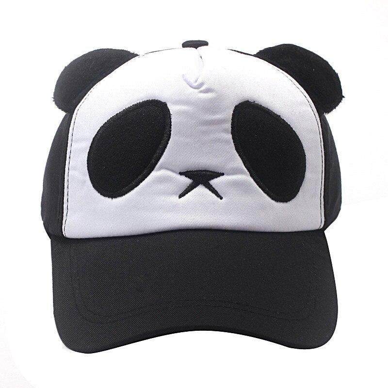 2018 Girl/&Boy Bongrace Winter Fall Cartoon Panda Warm Hat Peak Baseball Cap