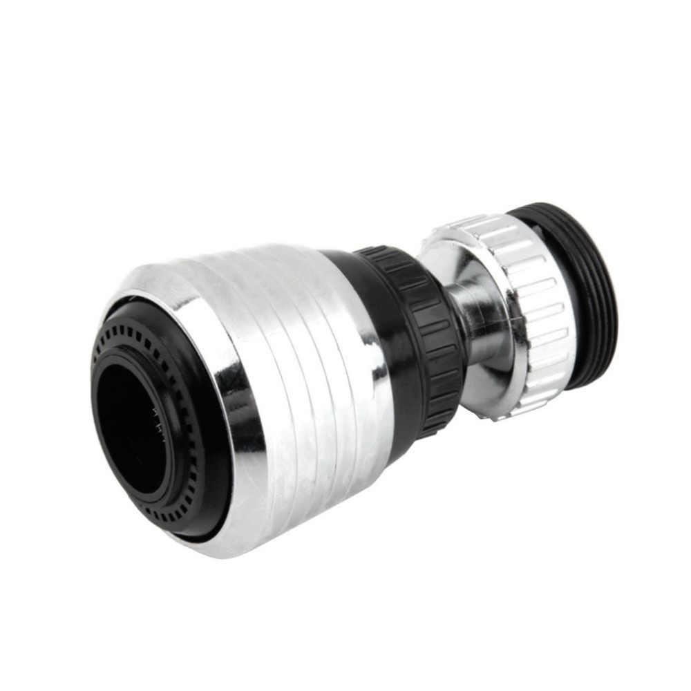 360 giratorio grifo difusor accesorios de cocina agua Bubbler de cabeza giratoria ahorro conector difusor de la boquilla