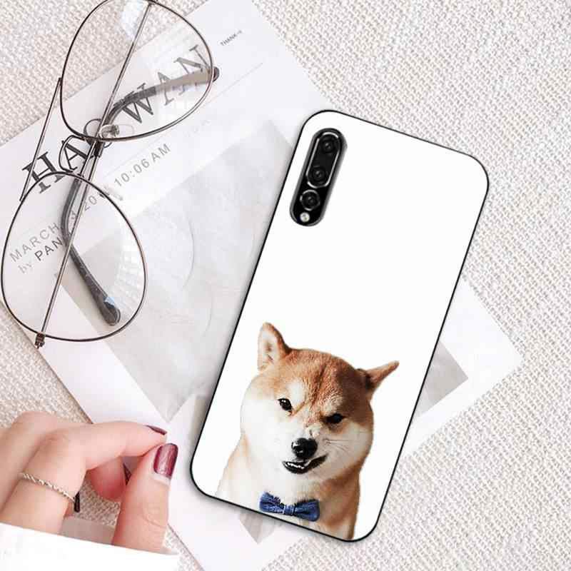 Yinuoda Shiba Inu Hond Case Luxe Voor Huawei P8 P9 P10 P20 Lite Plus Pro Mobiele Telefoon Accessoires